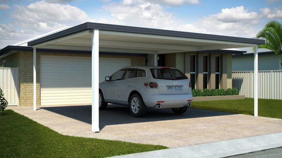 Affordable Carport Double Parking Capacity