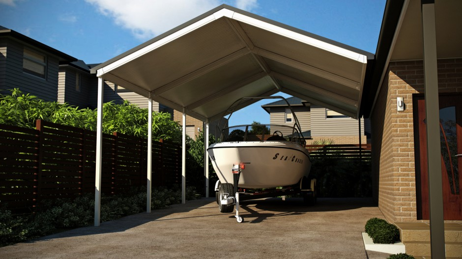 Carport for my boat