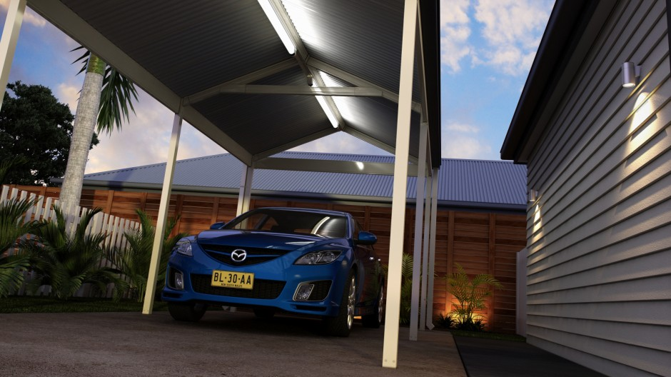 Carport to suit QLDER